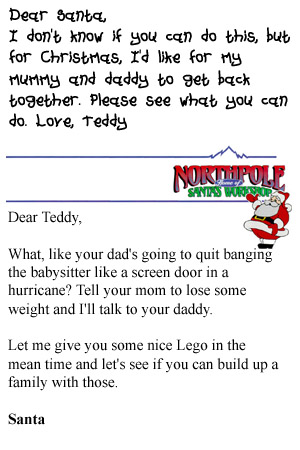 dear santa letters adults - photo #9